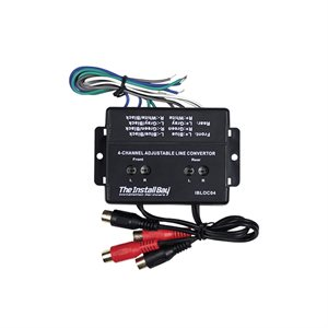Install Bay 4 Channel 60W Adjustable Level Converter (sgl)