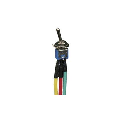 Install Bay Standard Single Pole / Single Throw Toggle Switch