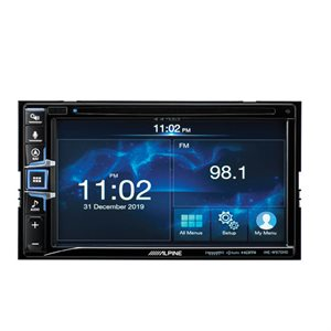 """Alpine 6.5"""" Navigation Receiver with Apple CarPlay™ and Android Auto™"""