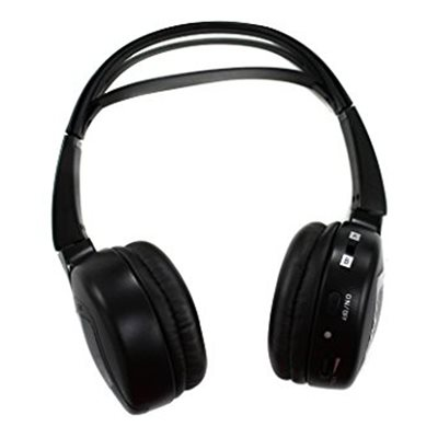 Audiovox 2 Channel Wireless IR Fold-Flat Headphones