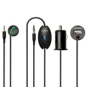iSimple iPhone Bluetooth Add-On Module (black)