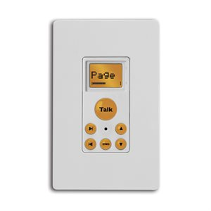 Russound Compoint Advanced Paging Keypad (white)