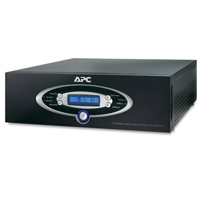 APC J-Type 1.5kVA Power Conditioner with Battery Backup