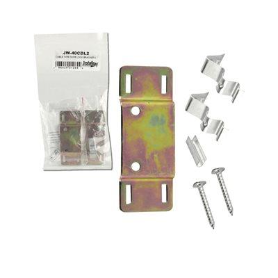 Install Bay Cable Type Door Lock Bracket (pair)
