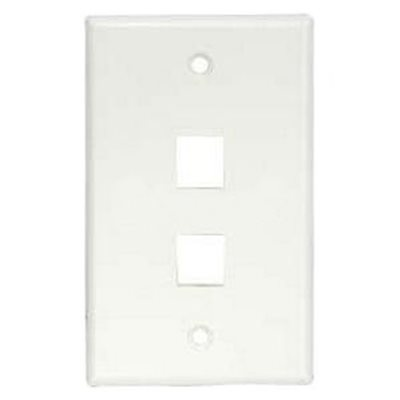 ASKA 2-Port Keystone Wall Plate