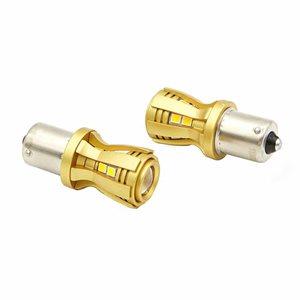 Lucas Lighting 1156 BA15S 16 LED Canbus Bulb (White)