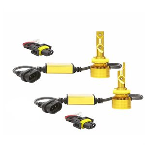 Lucas Lighting Single output.  Also replaces H8, H9, H11ST / SU / XV, H16 (L sh