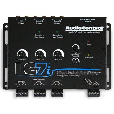 AudioControl 6 Ch Line Output Converter w / AccuBASS