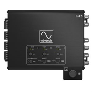 Wavtech 6 CH Line Output Converter / Summing Processor w / Remote