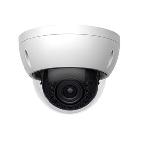 ZUUM 4MP 2.8mm WDR IP Mini-Dome Camera with PoE (white)