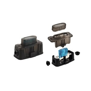 Install Bay 4-8 ga Input / Output Maxi HD Fuse Holder (single)
