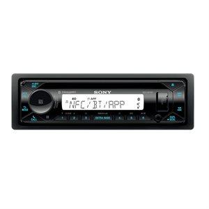 Sony Marine CD Receiver w / BT / NFC / Dual USB, Pandora / SXM Ready
