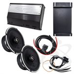 ARC Audio Motorcycle Coaxial Speaker Kit - Fits 2014+ HD Street Glide and Road Glide Motor