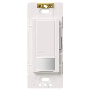 Lutron In-Wall Switch with Occupancy Sensor (white)