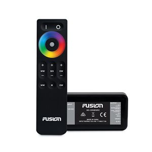 Fusion CRGBW lighting control module with wireless remote.