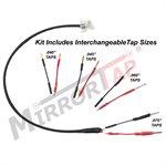 """BlendMount MTX Series 10"""" MirrorTap w / 4 Different Size Taps"""