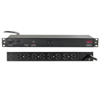 APC 9-Outlet Rackmount SurgeArrest (black)