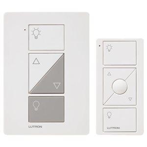 Lutron Caseta Wireless Plug-In Dimmer w / Pico RC Kit (white)