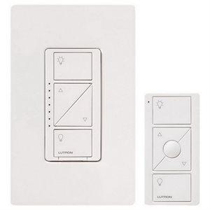 Lutron Caseta Wireless In-Wall Dimmer w / Pico RC Kit (white)