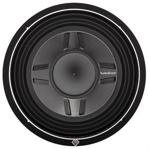 "Rockford Punch P3S 12"" 2 Ohm DVC Shallow Subwoofer (single)"