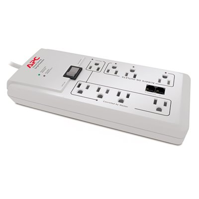 APC 8-Outlet Home / Office SurgeArrest