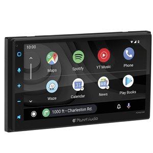 "Planet Audio 6.75"" Wireless Carplay  /  Android Auto Digital Media Receiver"