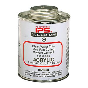 Mobile Solutions 4oz IPS Weld-On #3 Clear
