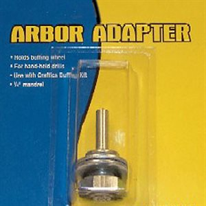 "Mobile Solutions 1 / 4"" Shaft Buffer Arbor Adapter"