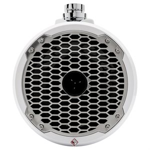 """Rockford Marine 8"""" Wakeboard Speakers w / Horn (white, pair)"""