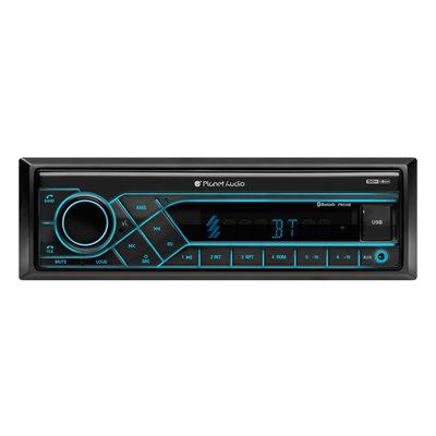 Planet Audio Mechless AM / FM / Bluetooth SDIN