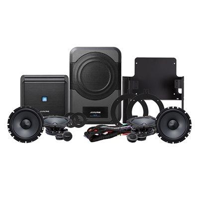 Alpine '15-'17 Jeep Wrangler Sound System 320 Watts