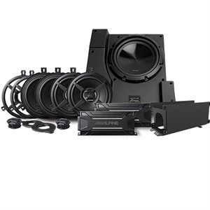 Alpine Direct-Fit complete Speaker System for Select 2011-18 Jeep Wrangler JK Unlimited Models