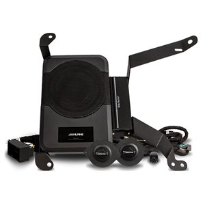Alpine Direct Fit Powered Audio Upgrade Package for Select 2018-Up Jeep Wrangler Unlimited JL Models