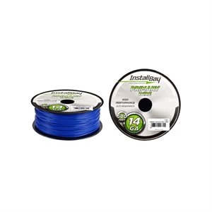 Install Bay 14 ga Primary Wire 500' Spool (blue)