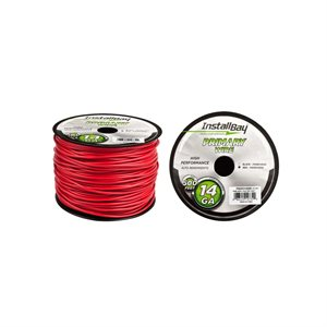 Install Bay 14 ga Primary Wire 500' Spool (red)