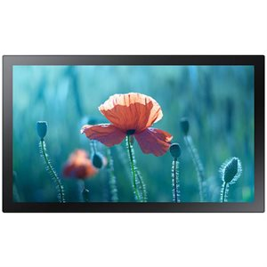 "Samsung Commercial 13"" Edge-Lit LED Small Signage Touchscreen Displa"