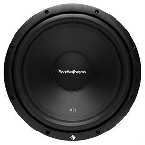 "Rockford Prime R1 12"" 4 Ohm SVC Subwoofer (single)"