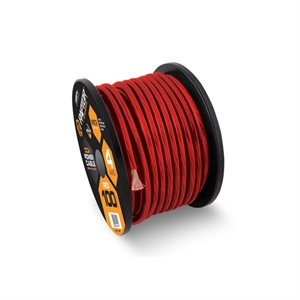 Raptor Vice Series 4 AWG CCA Power Cable 100' Spool (red)