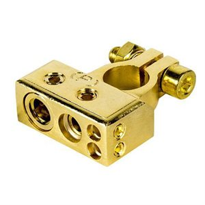 Raptor Mid Series 24k Plated Positive Battery Terminal