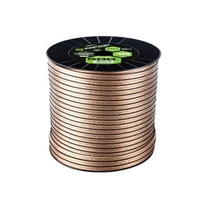 Raptor Pro Series 18 ga Speaker Wire 500' Spool (clear)