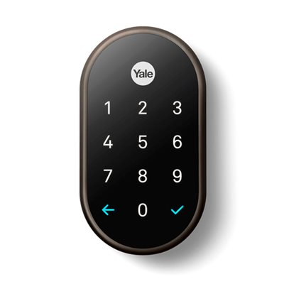 Nest x Yale Lock with Nest Connect (bronze)