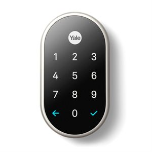 Nest x Yale Lock with Nest Connect (nickel)