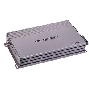 Gladen 4 Channel Class AB Amplifier 4x70W