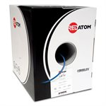 Red Atom Cat 5e 350MHz Wire 1,000' Box (blue)
