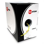 Red Atom Cat 6 550MHz Wire 1,000' Box (yellow)