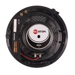 "Red Atom 8"" Round In-Ceiling Speakers (pair)"