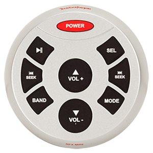 "Rockford RFX Series 2.5"" Waterproof Wired Remote (silver)"