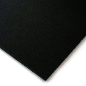 "Mobile Solutions 1 / 8"" ABS Sheet 24""x48"" (black)"