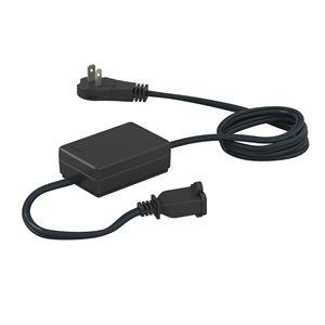 Lutron RadioRA2 15A RF Plug-In Appliance Module (black)