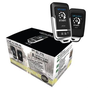 Excalibur One 1-Way Paging Remote Start / Keyless Entry System